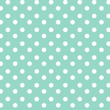 Turquoise Polka