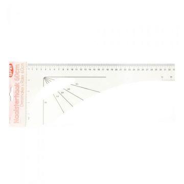 Patroonteken liniaal 60cm - Flexibel