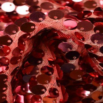 Roze XL Pailletten