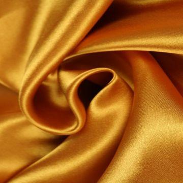 Goud / Oker Gele Satijn