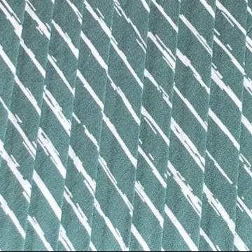 Oaki Doki Baumwolle Schrägband - Stripes Vintage Green - 2m