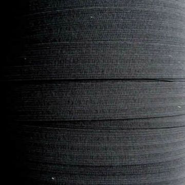 Taille Elastiek 50 mm - Zwart