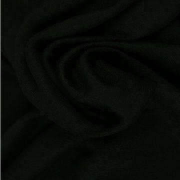 katoenen tricot zwart