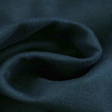 Navy gemêleerde wol