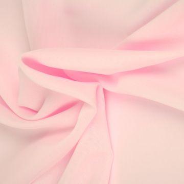 Licht Roze Chiffon