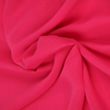 Fuchsia Roze Chiffon