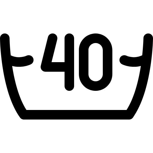 40 Grad waschen